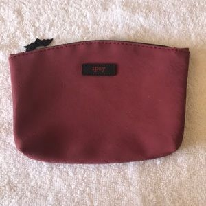 Red Bat ipsy Cosmetic Bag